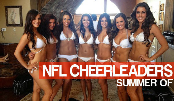 100 Best NFL Cheerleader Swimsuit Pics | Daily Girls @ Female Update