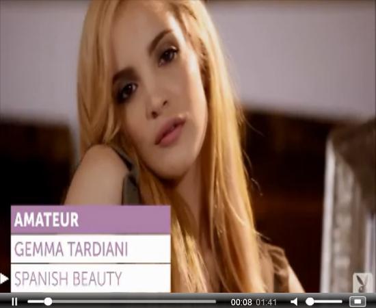 19yo Spanish Girl Gemma Tardiani Poses for Playboy | Daily Girls @ Female Update