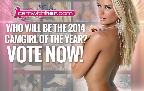 2014 CamWithHer Camgirl Of The Year | Daily Girls @ Female Update