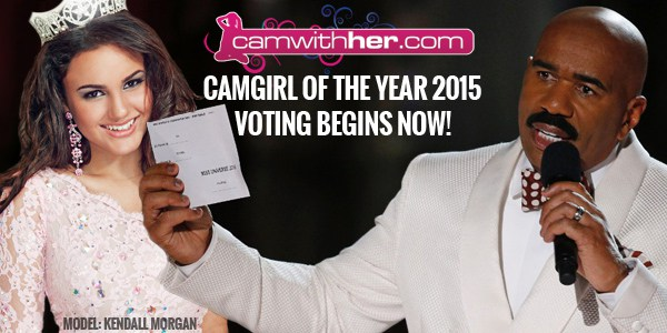 2015 Camgirl Of The Year Voting Begins! | Daily Girls @ Female Update