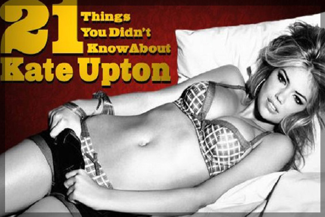 21 Things You Didn't Know About Kate Upton | Daily Girls @ Female Update