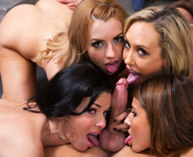 4 Pornstar Orgy | Daily Girls @ Female Update
