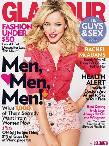 Rachel McAdams Covers Glamour Magazine | Daily Girls @ Female Update