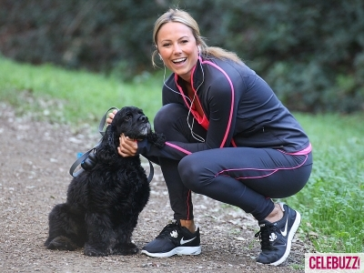 Stacy Keibler Takes Clooney's Dog for a Walk | Daily Girls @ Female Update