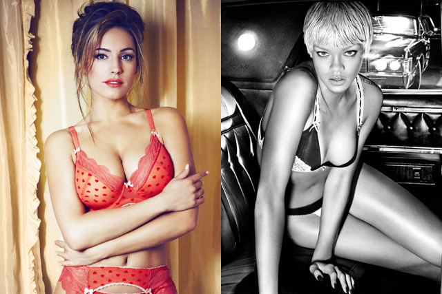 Kelly Brook and Rihanna sexy pictures | Daily Girls @ Female Update