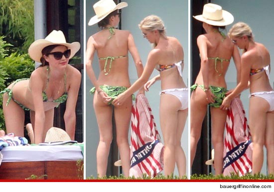 Miranda Kerr Gets Touchy-Feely Down Under | Daily Girls @ Female Update