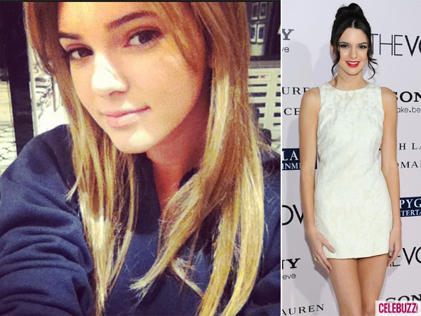 Kendall Jenner Goes Blonde!   Daily Girls @ Female Update
