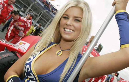 The Top Formula One WAGs | Daily Girls @ Female Update