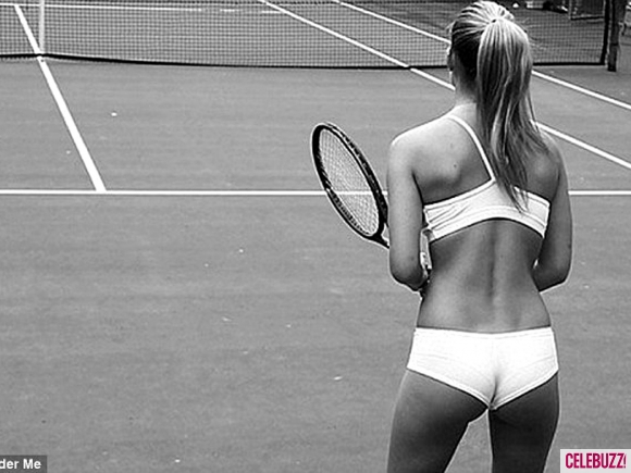 Bar Refaeli Plays Tennis in Her Underwear | Daily Girls @ Female Update