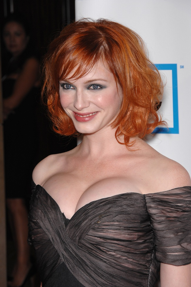 Christina Hendricks Was Adorably Goth In School | Daily Girls @ Female Update