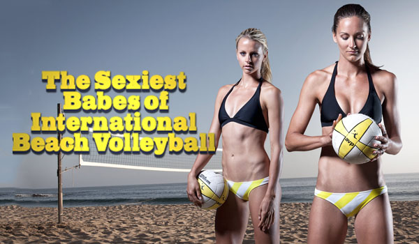 Sexiest Babes of International Beach Volleyball | Daily Girls @ Female Update