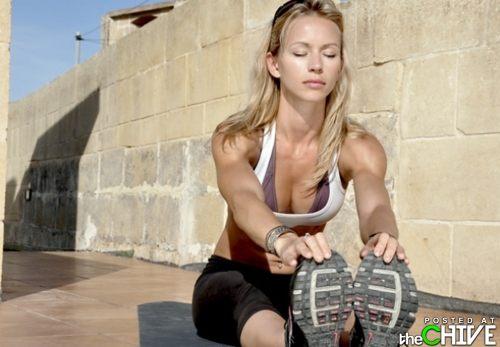 Hot girls stretching | Daily Girls @ Female Update