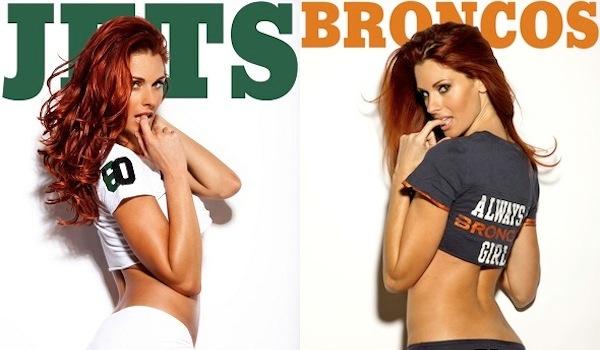 Superfan Showdown: NY Jets vs. Denver Broncos : | Daily Girls @ Female Update