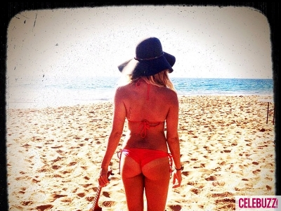 Ashley Tisdale Gets Cheeky