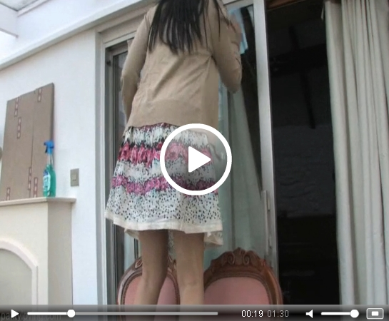Video: Housework Upskirt | Daily Girls @ Female Update