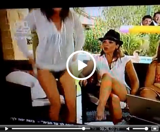 VIDEO: Bikini Oops on Live TV – ENF | Daily Girls @ Female Update