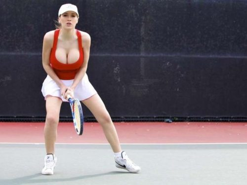 Jordan Carver playing tennis is sexy | Daily Girls @ Female Update