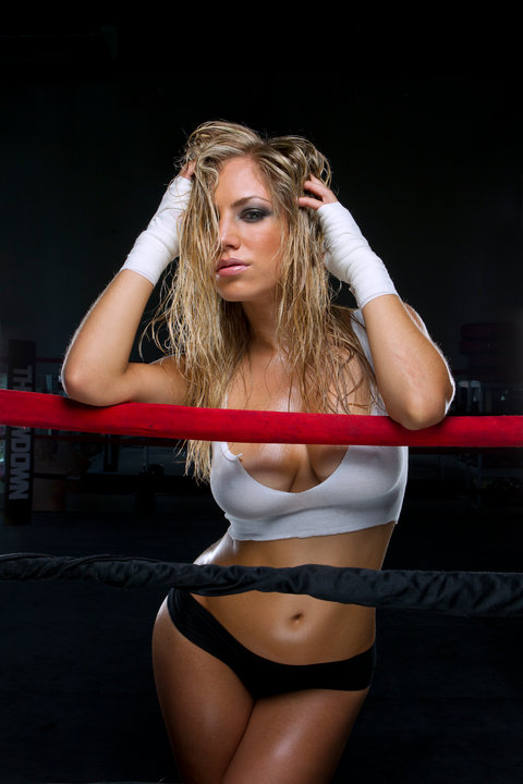 Jade Bryce Hottest MMA Ring Girl You Didn't Know | Daily Girls @ Female Update