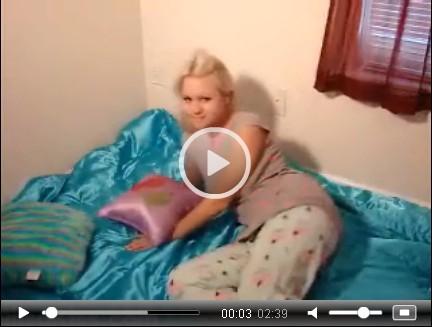 Alisa Kiss Pyjama Strip Tease | Daily Girls @ Female Update