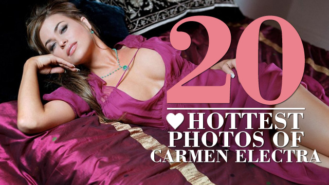 The 20 Hottest Photos of Carmen Electra | Daily Girls @ Female Update