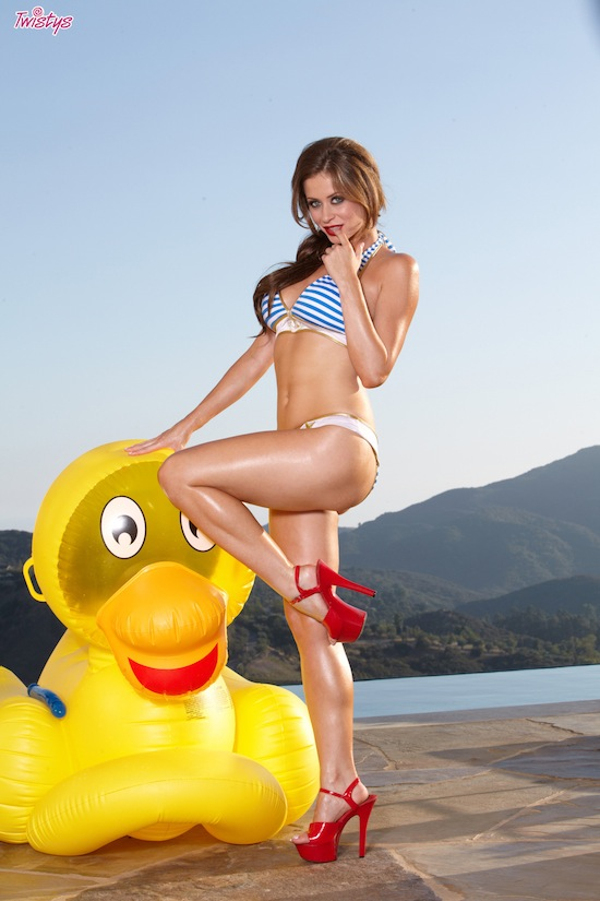 Emily Addison Playing With A Dildo At Twistys | Daily Girls @ Female Update