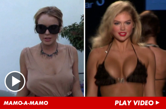Lindsay Lohan vs. Kate Upton | Daily Girls @ Female Update