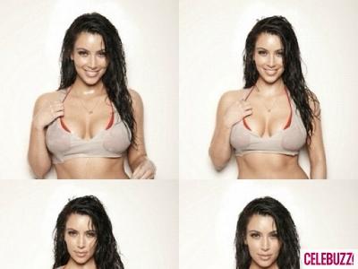 Kim Kardashian Gets 'Wet & Wild'