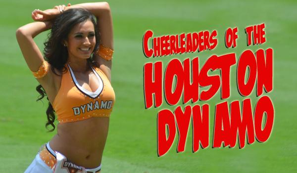 Cheerleaders Of The Houston Dynamo
