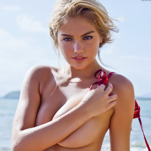 The Hottest Near-Nude Kate Upton Pics | Daily Girls @ Female Update