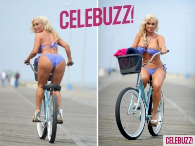 Coco Bikini-Bikes Around New Jersey Shore | Daily Girls @ Female Update