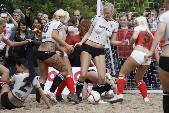 Euro2012 Topless Match – Denmark V Germany