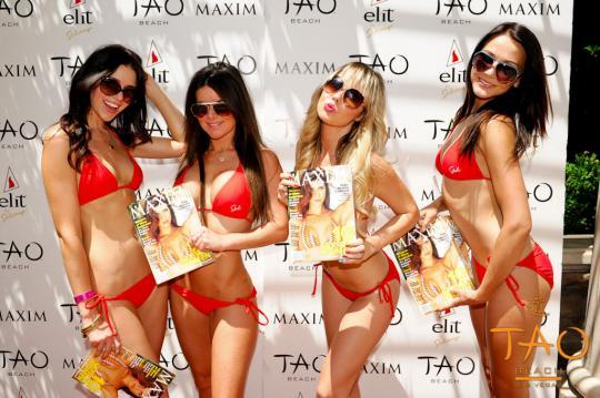 Hot Shots from Maxim Fridays at Tao Beach