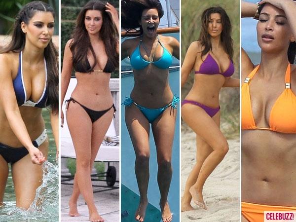 Kim Kardashian's Best Bikini Moments