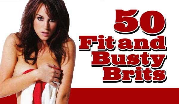 50 Fit and Busty Brits for St. Georges Day | Daily Girls @ Female Update