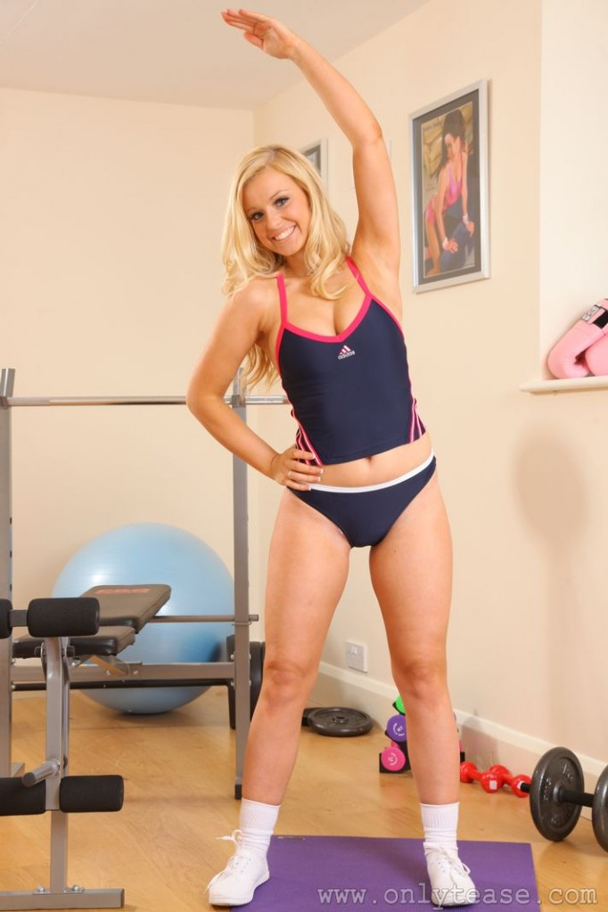 Hollie in the Only Tease Gym | Daily Girls @ Female Update