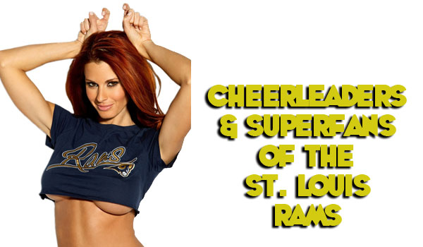 42 Hottest St. Louis Rams Cheerleaders | Daily Girls @ Female Update
