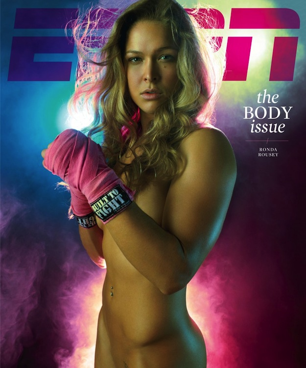 Check Out MMA Fighter Ronda Rousey's Twitter Pic | Daily Girls @ Female Update