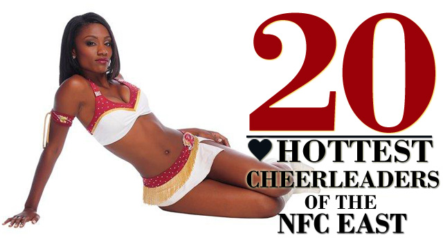 The 20 Hottest Cheerleaders of the NFC East | Daily Girls @ Female Update