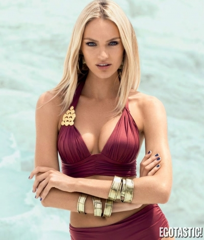Candice Swanepoel Swimsuit Pictures Crank Necks   Daily Girls @ Female Update