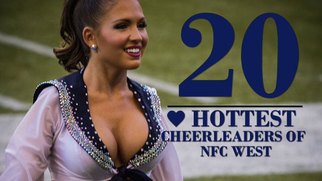 The 20 Hottest Cheerleaders of the NFC West | Daily Girls @ Female Update