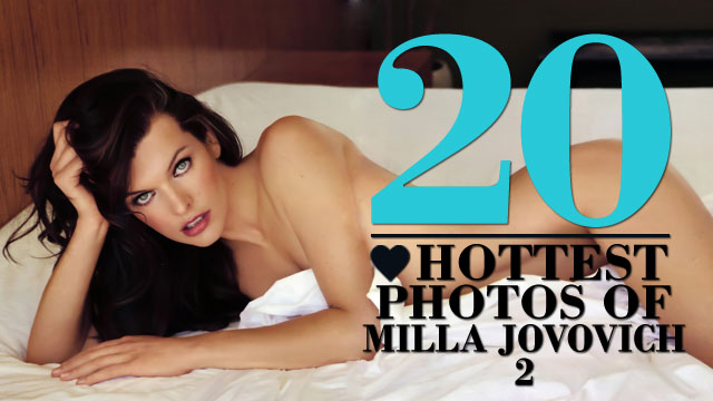 The 20 Hottest Photos Of Milla Jovovich Vol 2 | Daily Girls @ Female Update