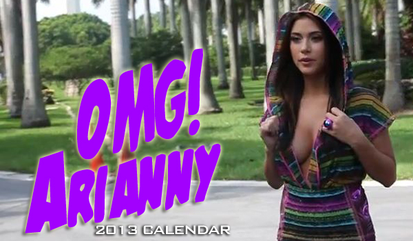 Sexiest Screencaps From Arianny Celeste's Calend | Daily Girls @ Female Update