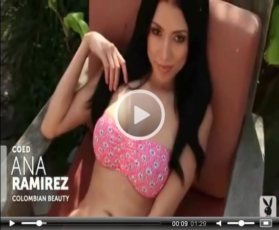 Ana Ramirez on Playboy | Daily Girls @ Female Update