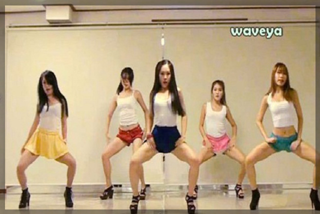 The WaveYa Wonderland – Gangnam Style | Daily Girls @ Female Update