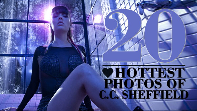 The 20 Hottest Photos of C.C. Sheffield   HEAVY   Daily Girls @ Female Update