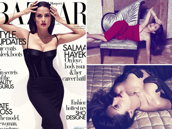 Salma Hayek Embraces Her Full Figure | Daily Girls @ Female Update