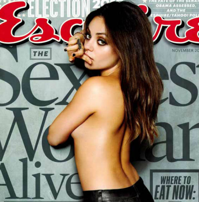 Mila Kunis, Esquire's Hottest Woman | Daily Girls @ Female Update