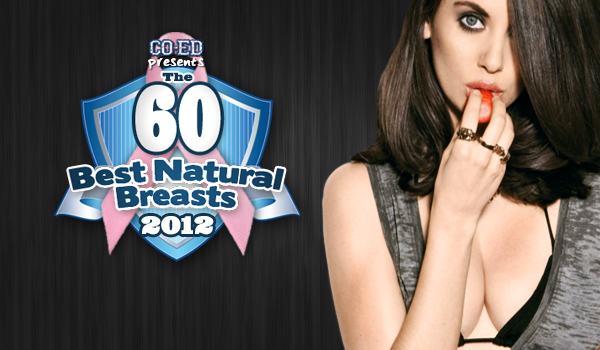 Natural Breasts of 2012 for Breast Cancer Awarenes | Daily Girls @ Female Update