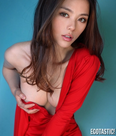 Li Sha Sha Puts Her Red Dress | Daily Girls @ Female Update