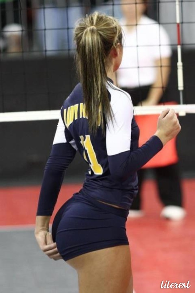 Volleyball Players Have Athletic And Shapely Rear | Daily Girls @ Female Update